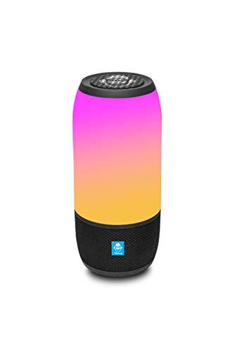 iDance BM3LBK - Altavoz portátil Bluetooth (20W, Micro SD, aux-in) Color Negro
