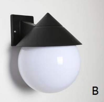 Acrílico Sombrilla Sol Solo Luces De Pared Ático Lámparas De Pared Dormitorio Escaleras Pasillo Baño Terraza Creativo, B