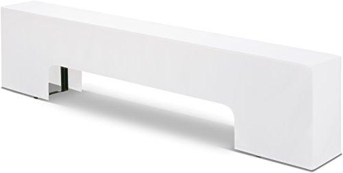 Hussenkönig Bierbank-Husse bodenlang 220x25x46cm für Bierzeltgarnitur Weiß EXKLUSIVE