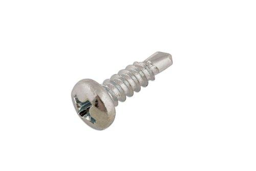 Preisvergleich Produktbild Connect Werkstatt Consumables 31515,  Bohrschraube Pan Head,  8 x 1 / 2 Zoll,  100 Stück