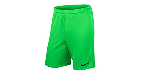 Nike Herren Shorts League Knit, 725881-398, Grün (Green Strike/Black/398), Gr. M