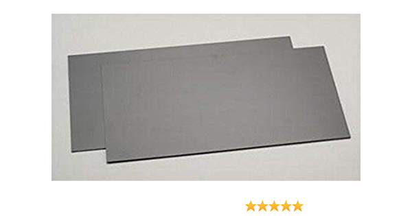 Evergreen Weiße Polystyrolplatte 9040 2 Stück 150x300x1,00 mm
