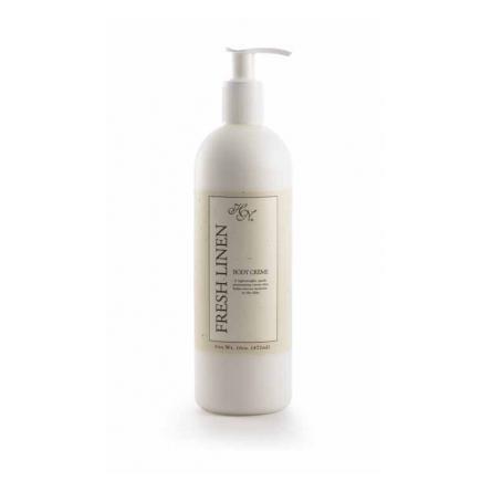 Hillhouse Naturals Fresh Linen Collection Body Cream - 16 oz by Hillhouse Naturals (Naturals Hillhouse)