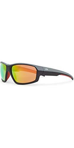 Gill Race Fusion Wassersport Strand Bootfahren Yachting oder Surf Sonnenbrille Tango Orange Spiegel - Unisex