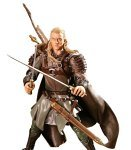 Toy Biz 81386 - Herr der Ringe The Fellowship of the Ring Triologie Legolas with Dagger-Slashing and Arrow Launching