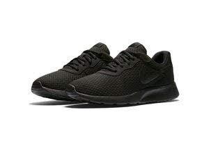 Nike Herren Tanjun Laufschuhe, Schwarz Black-Anthracite 001, 43 EU - Nike Leichte Turnschuhe