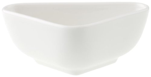 Villeroy & Boch Pi Carré Coupelle plate, 11x7 cm, Porcelaine Premium, Blanc