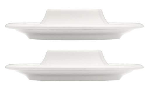 Iittala Raami Lot de 2 coquetiers en Porcelaine Blanc Taille Unique