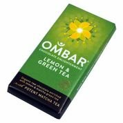 Ombar UK Ombar Green Tea & Lemon, Bio, Roh 35g