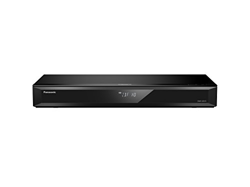 Panasonic DMR-UBS70EGK Ultra HD Blu-ray Recorder (500GB HDD, 4K Blu-ray Disc, 4K VoD, UHD TV Empfang, 2x DVB-S2, schwarz) (Hd-video-audio-recorder)