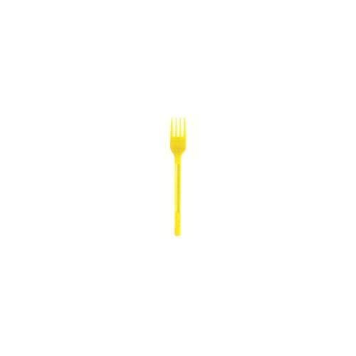 Forchette Lot DE 20 fourchettes Jaune
