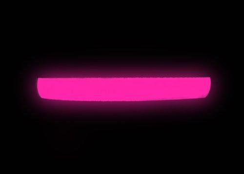"""Hunde Leuchthalsband LED Halsband Hundehalsband Hunde-Halsband """"Zandoo"""" Leuchthalsband für Hunde inkl. Batterie in der Farbe pink Haustiere Katzen Größe S (ca. 35-40 cm) NEU von der Marke PRECORN - 2"""