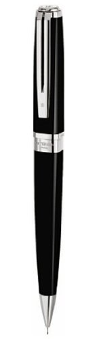 Buy Waterman Exception Slim Black Lacquer Silver Trim Mechanical Pencil – Gift Boxed Online