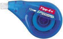Korrekturroller Easy Correct, 4,2 mm x 12 m Korrekturroller Tipp-Ex® Easy Correct´. Farbe Korrekturband: weiß. Schattenfrei kopierbar, ohne Lösungsmittel. Zum seitlichen Korrigieren, optimale Bandführung, widerstandsfähiges Polyesterband, sofort überschreibbar. Gehäusefarbe: blau-transparent. Bandgröße (L x B): 12 m x 4,2 mm.