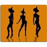 Jun XT Gaming Mousepad eine Schwarz Halloween Illustration Silhouette auf einer Orange Hintergrund Bild-ID 5229822