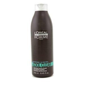 Loreal Homme Cool Clear Shampoo 250 ml - Pyrithione Zink-schuppen-shampoo