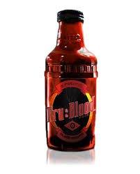 True Blood! Tru Blood Vampire O Positive Drink! One Bottle NEW by OCP