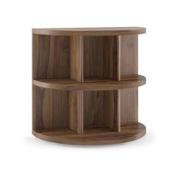 Furny Zoey Teak Wood Bedside Table In Teak Polish Amazon In