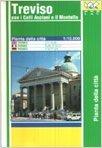 Treviso. Pianta della città 1:10.000: With Colli Asolani and Il Montello Plus Tourist Information (Carte stradali) por Collectif