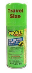 Pronto Plus Bed Bug Spray, 3-Ounce (Pack of 2) by Pronto (English Manual)