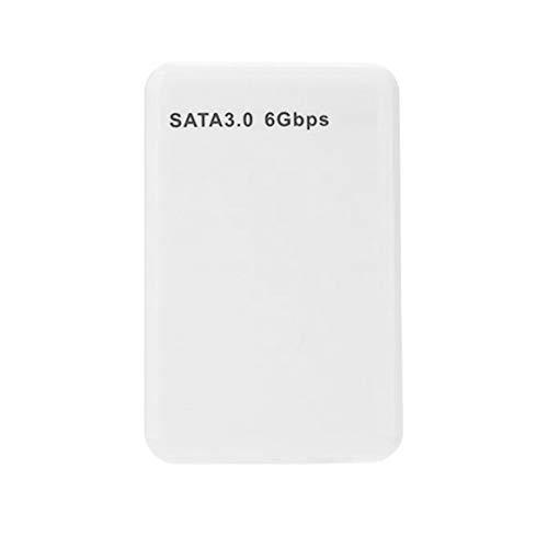 USB 3.0 Externes Festplattenlaufwerk High Speed USB3.0 Tragbare HD-Festplatte 500 GB 1 TB Speichergeräte für Laptop-Desktop - Weiß 500 GB