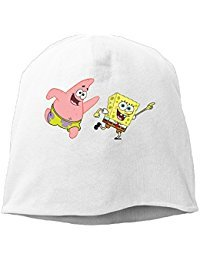 Spongebob Squarepants Beanie Knit Hat Toboggan RoyalBlue