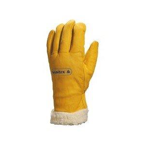 Venitex Fbf15 Fur Lined Leather Winter Ski Gloves (Size 11)