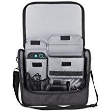Kootek Reisetasche für Nintendo Switch, Umhängetasche, Zubehör, mit Verstellbarer Schulter und 7 Spielkartuschen
