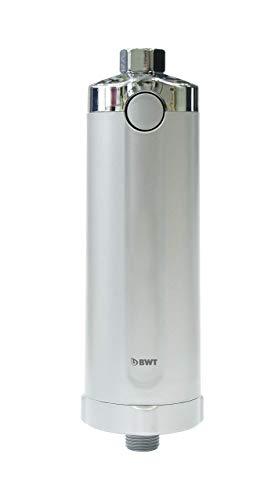 BWT - 812916P - Quick & Clean Antikalk-Filtersystem inkl. 1 Filterkartusche - Reinigung per Knopfdruck - für ein kalkfreies Bad