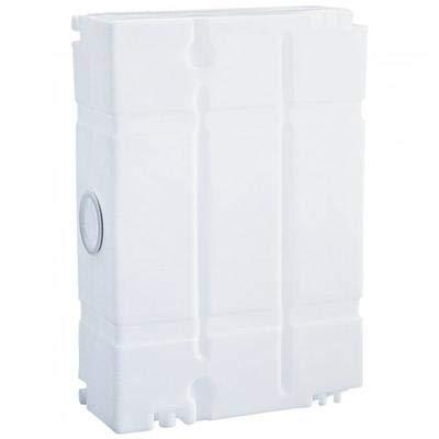 Volumen Wassertank (Goebel Wassertank Wasserbehälter, Volumen: 150 Liter, weiß, große Reinigungsöffnung, Festeinbau oder Unterflurmontage)