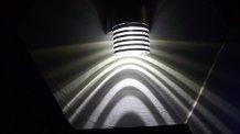 Shadow & Ventola da parete con luce a soffitto LED EDISON, 3 W, 12 V, colore luce: Bianco caldo