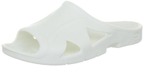 Fashy Herren Bio Slipper Dusch- & Badeschuhe, Weiss (Weiß), 43 EU