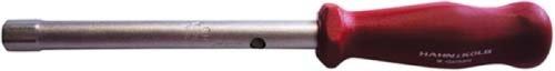 Orion Tuyau Clé à douille 11 mm 6 pans avec manche en plastique résistant aux chocs