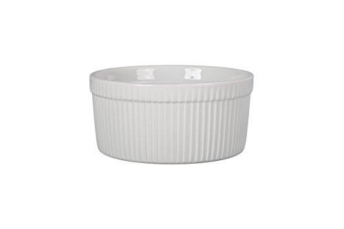 BIA Cordon Bleu 900016S1SIOC Classic Bakeware Souffle Dish, White Bia-souffle