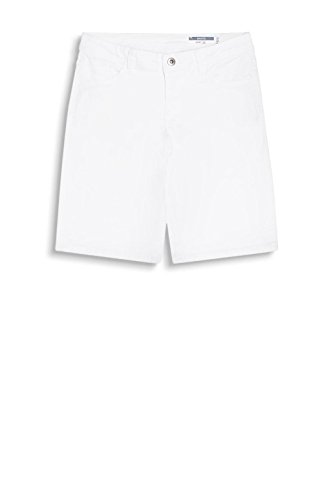 edc by Esprit 047cc1c011, Short Femme Blanc (White)