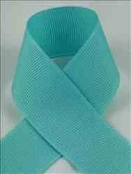 Schiff Ribbons 744-3 Polyester Grosgrain 5/8-Inch Fabric Ribbons, 20-Yard, Aquamarine by Schiff Ribbons