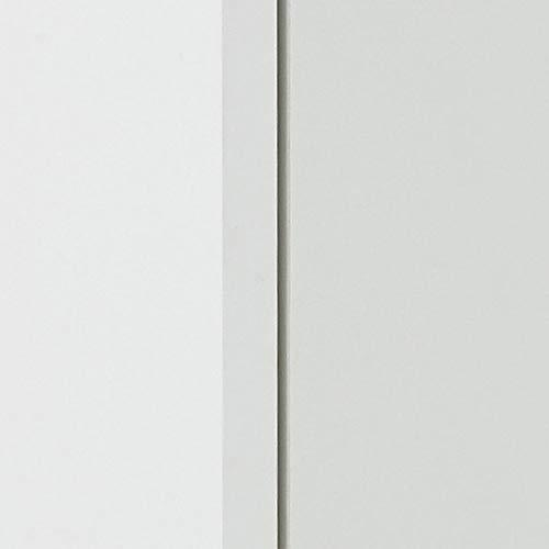 13Casa – Nora A5 – Mobile multiuso. Dim: 20x45x61 h cm. Col: Bianco. Mat: Truciolare, Melamina. - 5