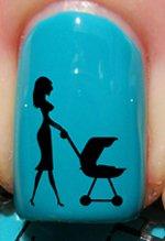 Nouvelle maman - Stickers pour ongles YRNAILS