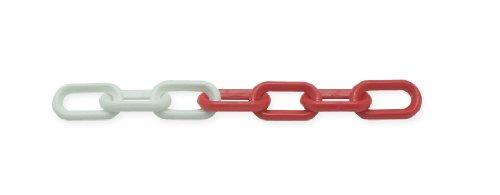 Viso CBR104C Seau chaîne de signalisation plastique Blanc/Rouge