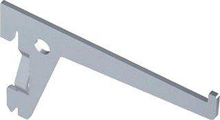 Element System 10105-00603 Träger PRO 10105, Länge 400 mm, Stahl weiß-alu (RAL 9006)