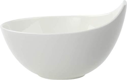 Villeroy & Boch Urban Nature Suppenschale, Premium Porzellan, Weiß