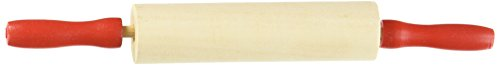 Rhode Island Novelty Rolling Pin (Pack of 3), 7.5 , Brown Rolling Pin Bakery