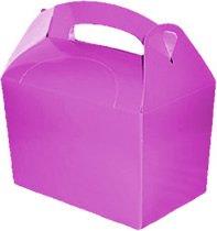 Gifts 4 All Occasions Limited SHATCHI-1065 - Caja de regalo (10 unidades), color morado
