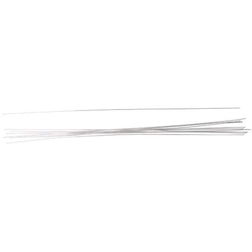 Dabixx 10Pcs 1.6x450mm Hipotermia Baja Temperatura Aluminio Varilla Electrodo de Alambre