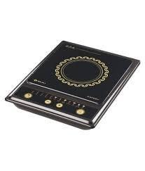 Bajaj Splendid 1200 Watts Tact Switch Induction Cooktop, Multicolour