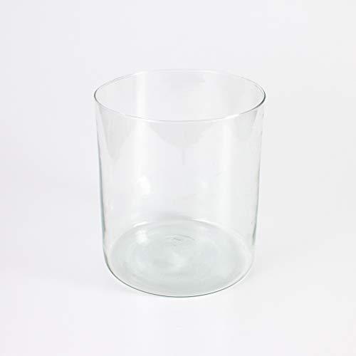 Florero cilíndrico SANSA de cristal