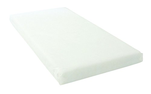 East Coast Foam Cot Mattress with Removable Cover (140 cm x 70 cm)