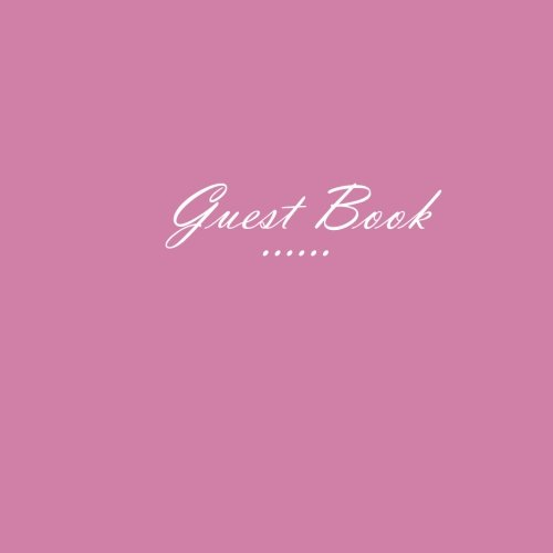 00 PAGES, 8.5 x 8.5 inches = 21.59 x 21.59 cm, Pink matte cover - S. Books (Funeral Home Management)