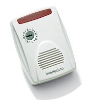 Intertechno MLR-7100 Radio Doorbell with Red Flashing Light