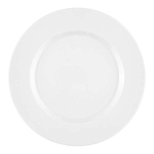 Seltmann Weiden 001.710867 No Limits Assiette ronde pour petit-déjeuner Blanc